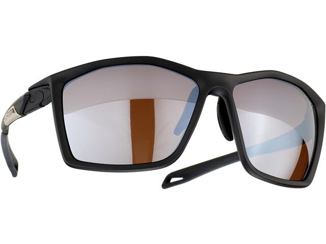 Alpina Twist Five HM+ Glasses black matt/black mirror